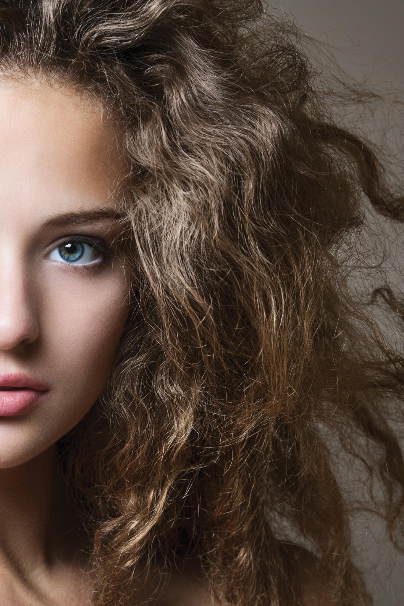 علاج الشعر الخشن