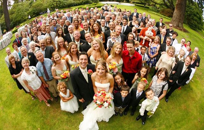 عدد المدعوين في حفل الزفاف