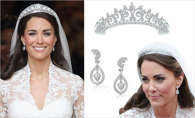 مجوهرات زفاف كيت ميدلتون