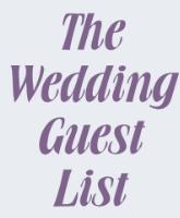 قائمة المدعوين لحفل الزفاف