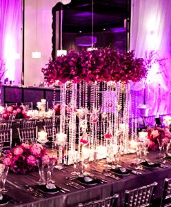 اخر صيحات 2015 في تزيين حفلات الزفاف