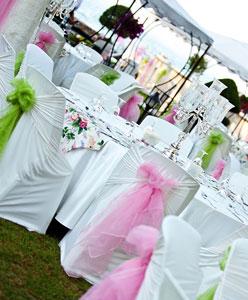كيفية تنظيم طاولات حفل الزفاف