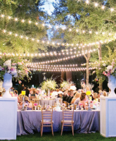 التخطيط لحفل زفاف خارجي