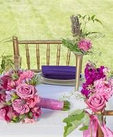 كيف تنسقين أزهار زفافك؟
