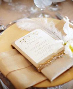 نسقي طعام حفل زفافك حسب موسمه