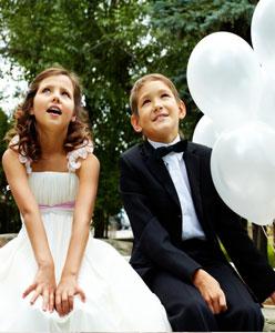 نصائح هامة عند اصطحاب الاطفال الى حفل الزفاف