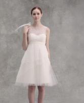بالصور: تألقي بالفستان البسيط في حفل الزفاف
