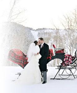 اخر صيحات الأعراس الشتوية