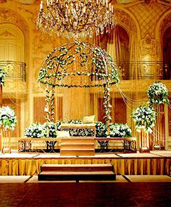 كيف تختارين الكوشة الأروع لحفل زفافك