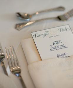 أفكار مميزة لتقديم الطعام في حفلات الزفاف