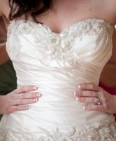 حيل مهمة لإخفاء البطن البارزة للعروس