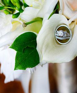 أشكال مميزة لخواتم الزفاف