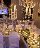 أفكار مميزة لتزيين قاعة حفل الزفاف