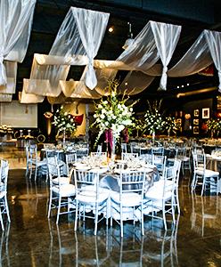 أجمل الأفكار لتزيين قاعة حفل الزفاف