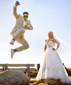 5 أفكار فريدة من نوعها لصور الزفاف