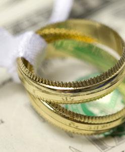 ميزانية الزفاف