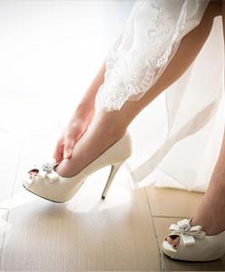 انتبهي الى هذه الامور عند اختيار حذاء الزفاف