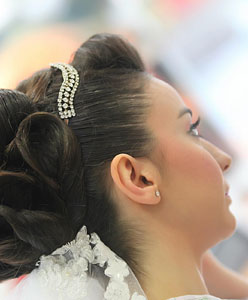 اكسسوارات شعر العروس! ماهي؟