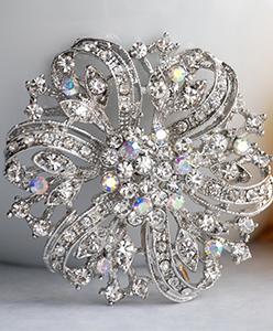 كيف تستخدمين بروش زفافك