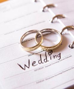 تحضيرات اخر أسبوع من الزفاف