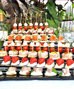 حفلات زفاف الكوكتيل