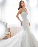 فستان الزفاف ....للعروس طويلة القامة