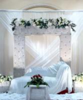 كوشة العروسين زينة الحفل