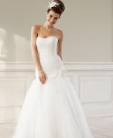 نصائح مهمة لارتداء فستان الزفاف بدون حمالات