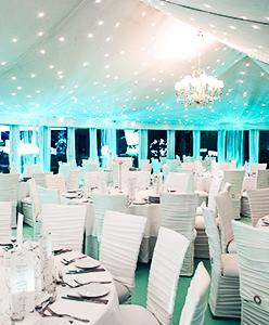 أجمل الأفكار لأضواء رومانسية في الزفاف