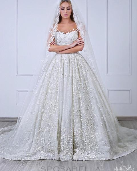 e0e40955ba021 فساتين زفاف انستقرام الفستان الأنيق