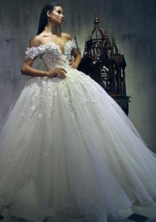 صور فساتين زفاف 2019