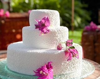 كيك الزفاف